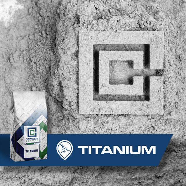 Titanium White - Raw Pigment for Concrete by Cement Colors