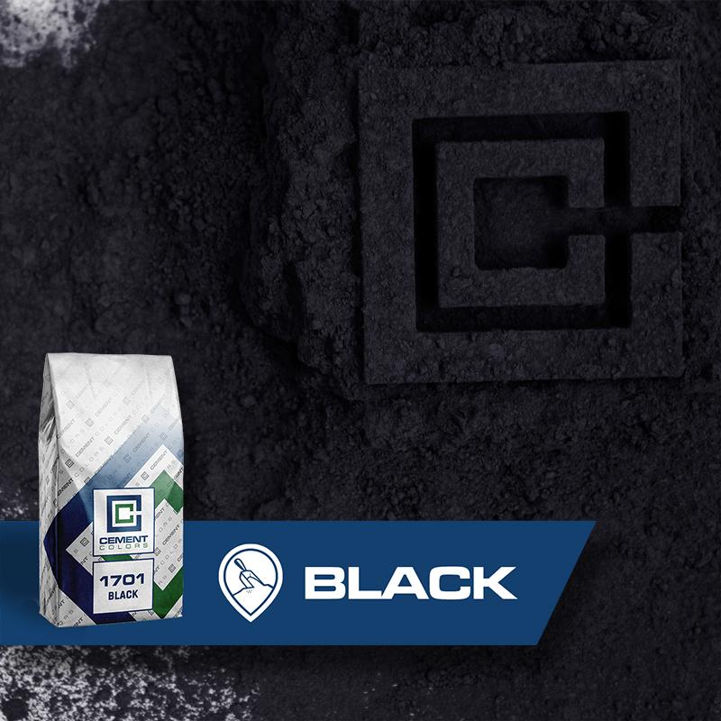 Black - Raw Pigment for Concrete by Cement Colors