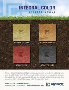 Flyer Integral Color - Utility Grade - Colors