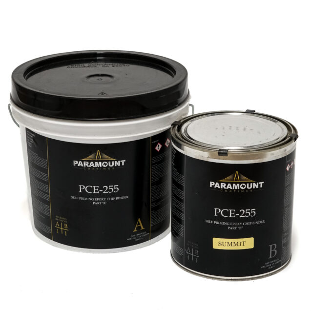 PCE-255 Summit Epoxy pigmented coat for vinyl chips