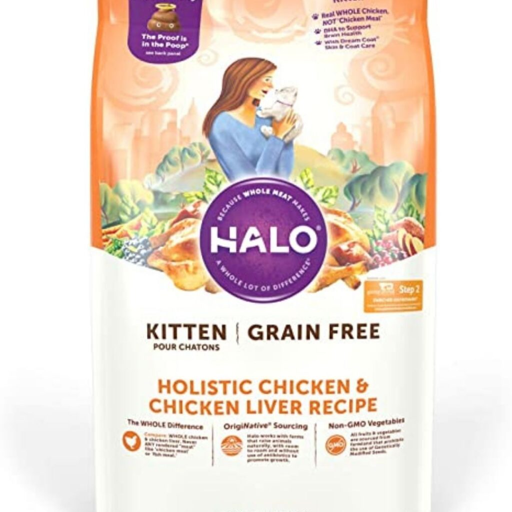 Halo kitten food - natural, grain-free, holistic chicken recipe pate Review