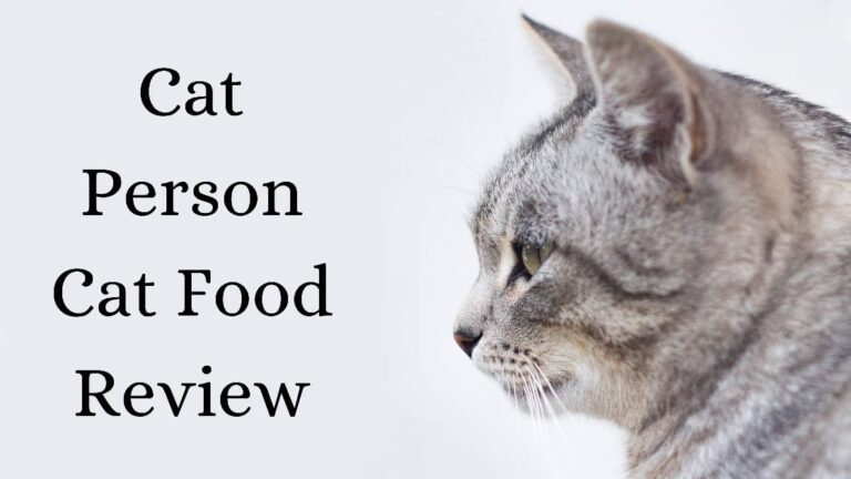 cat person cat food review