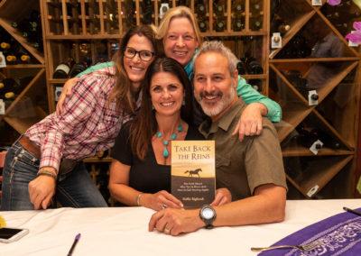 hallies-signing-book-group