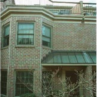 A brick rental property in the Ballston area