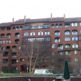 An apartment building in Arlington, Virginia