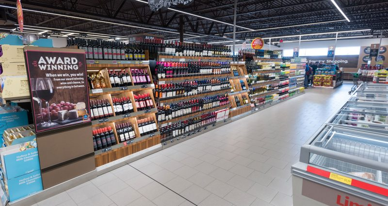 wine-racks-grocery-stores
