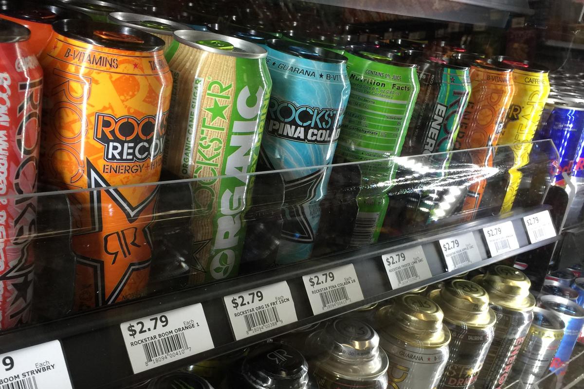 VersaSlide - Energy Drinks