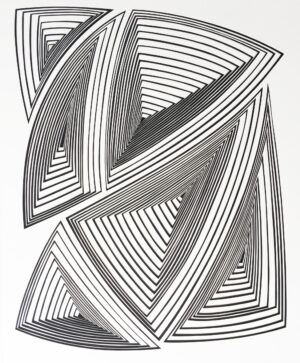 Black & White Abstract-In