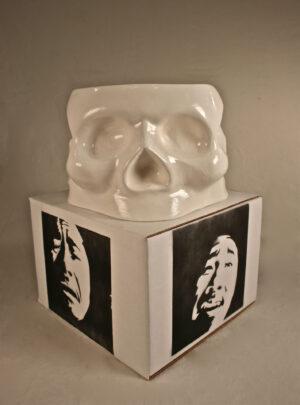 Skulls of Emotion; Delight, Anger, Sorrow, Pleasure