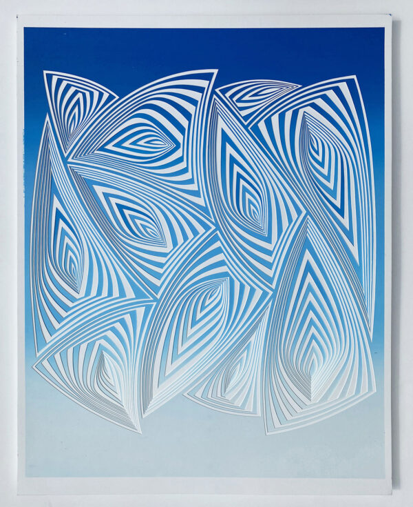 Blue White In
