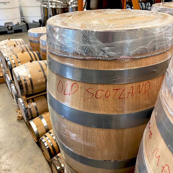 Barrels for aging whiskey
