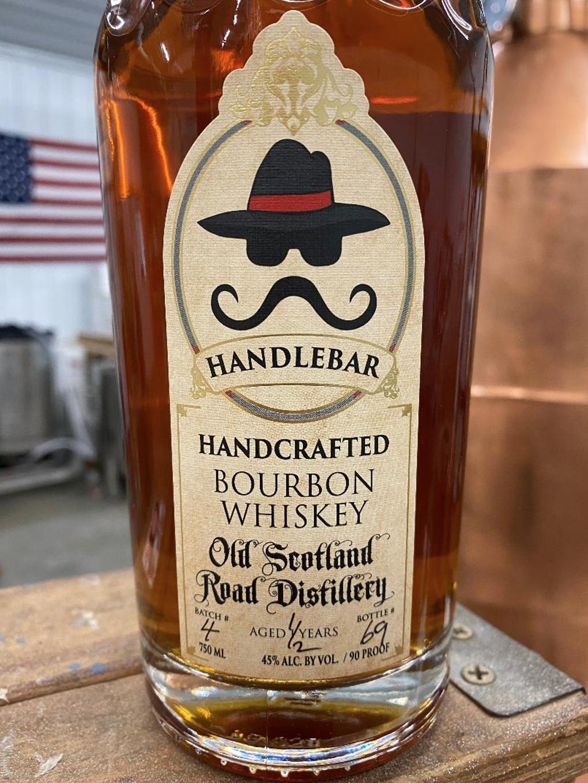 Handlebar Handcrafted Bourbon Whiskey