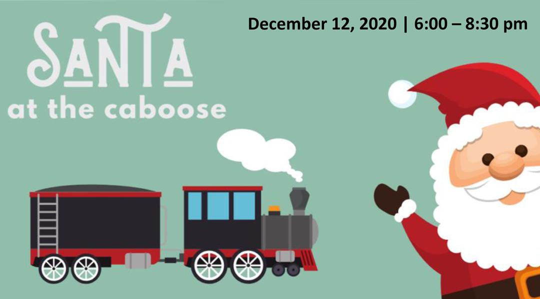 Santa at the Caboose 2020