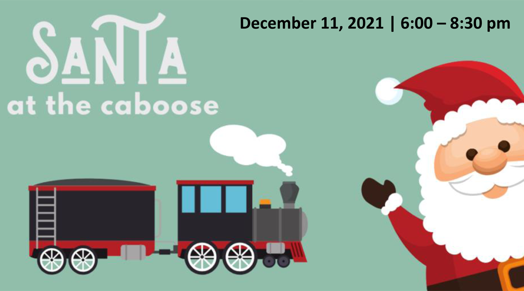 Santa at the Caboose 2021