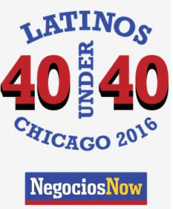Chicago latinos 40 under 40 award