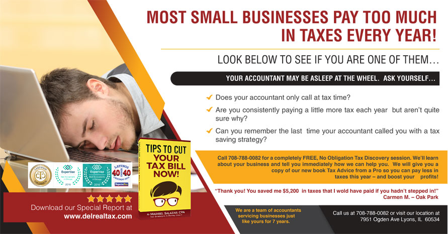 Small Business Tax Preparation from Del Real Tax Group