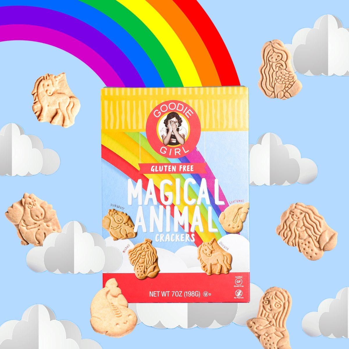 Goodie GIrl Cookies magical animal crackers