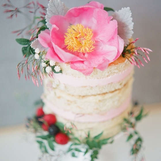 Image Nailed It Cake with Flower