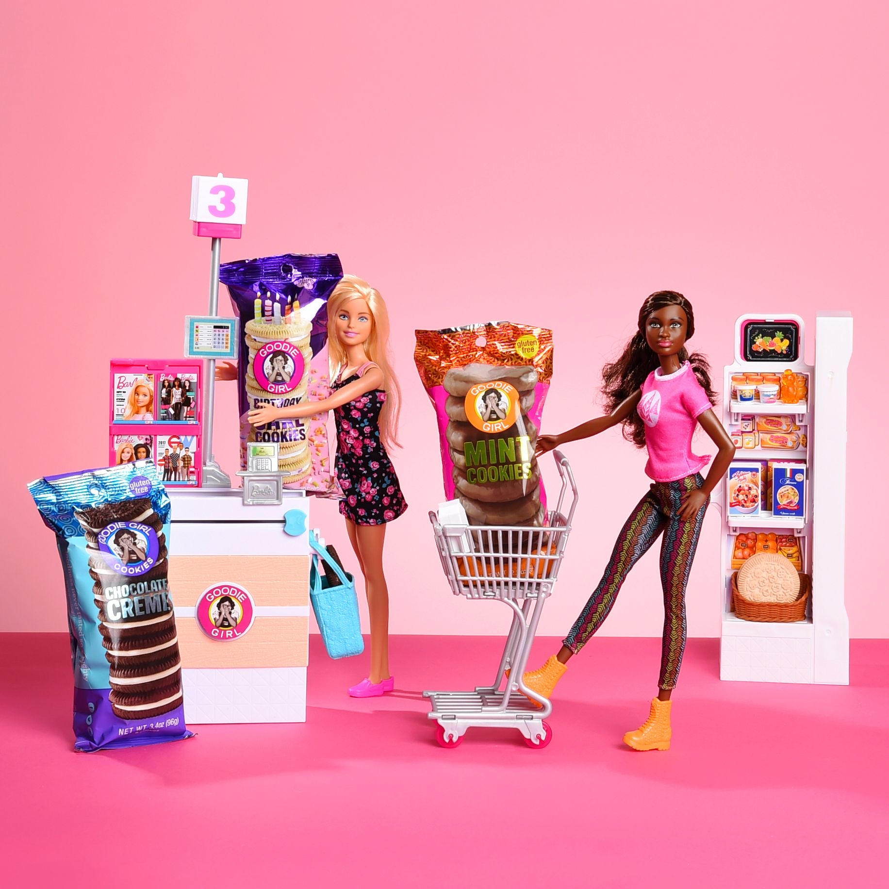 Goodie GIrl Cookies and dolls