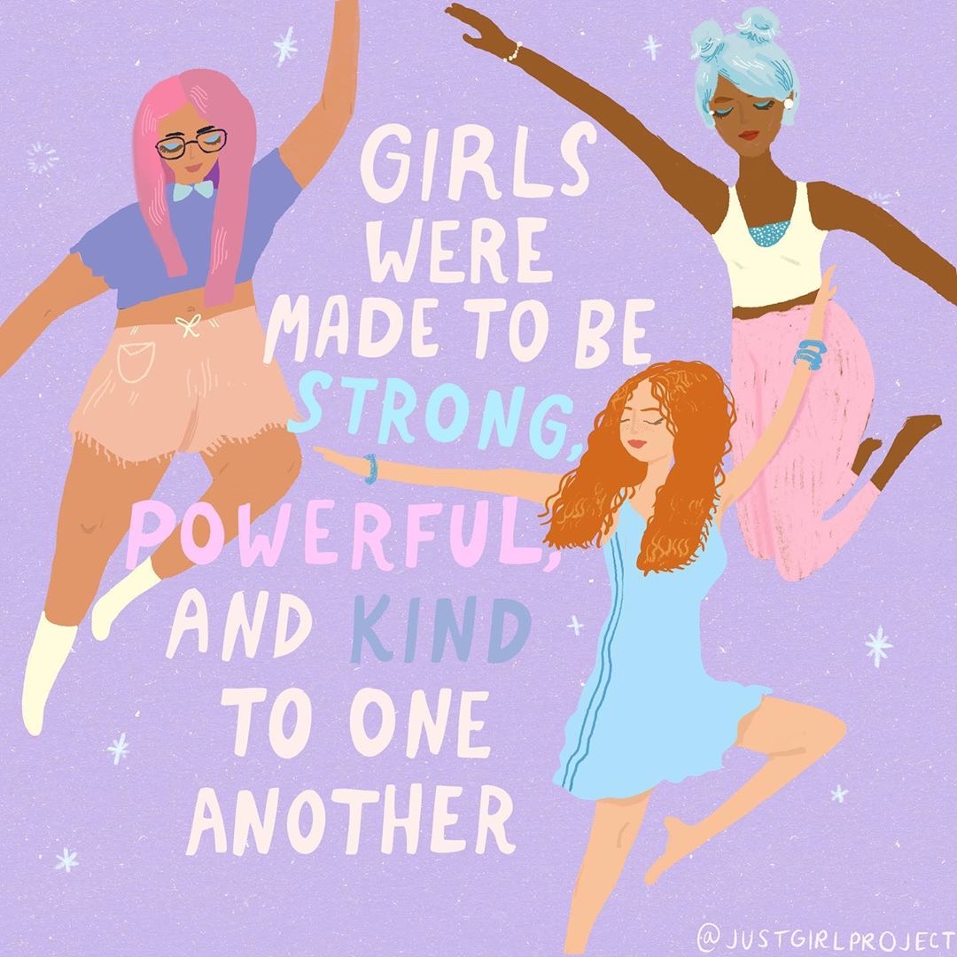The Just Girl Project Print