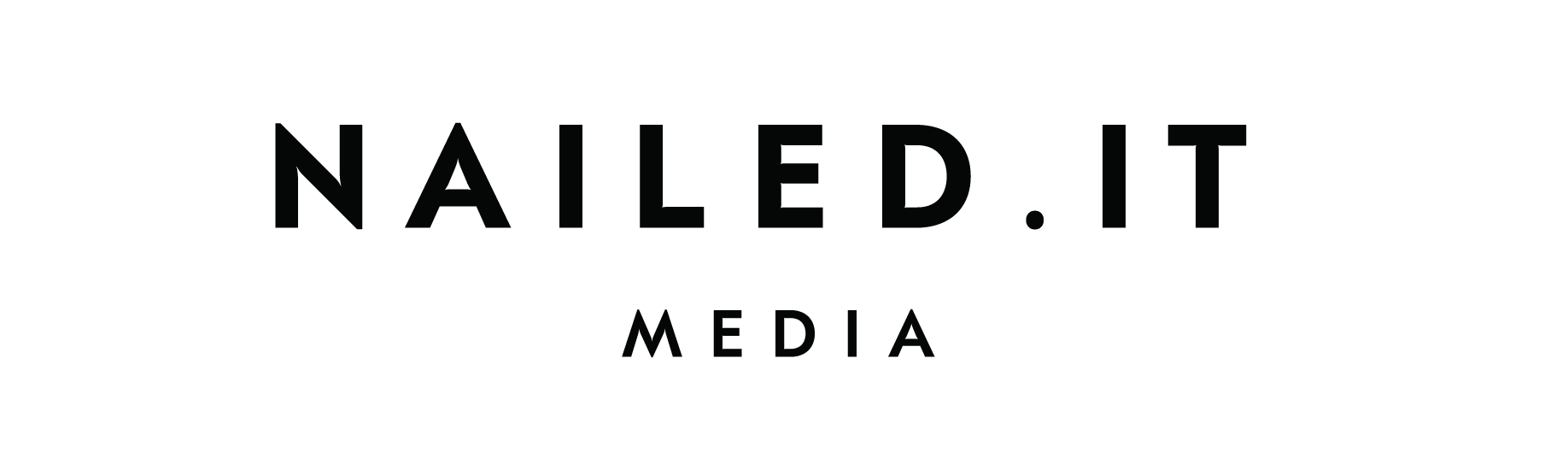 NaileditMedia-Black Logo