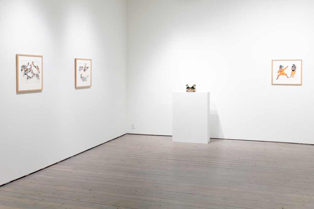 Installation view of Chief Henry Speck at Macaulay & Co. Fine Art