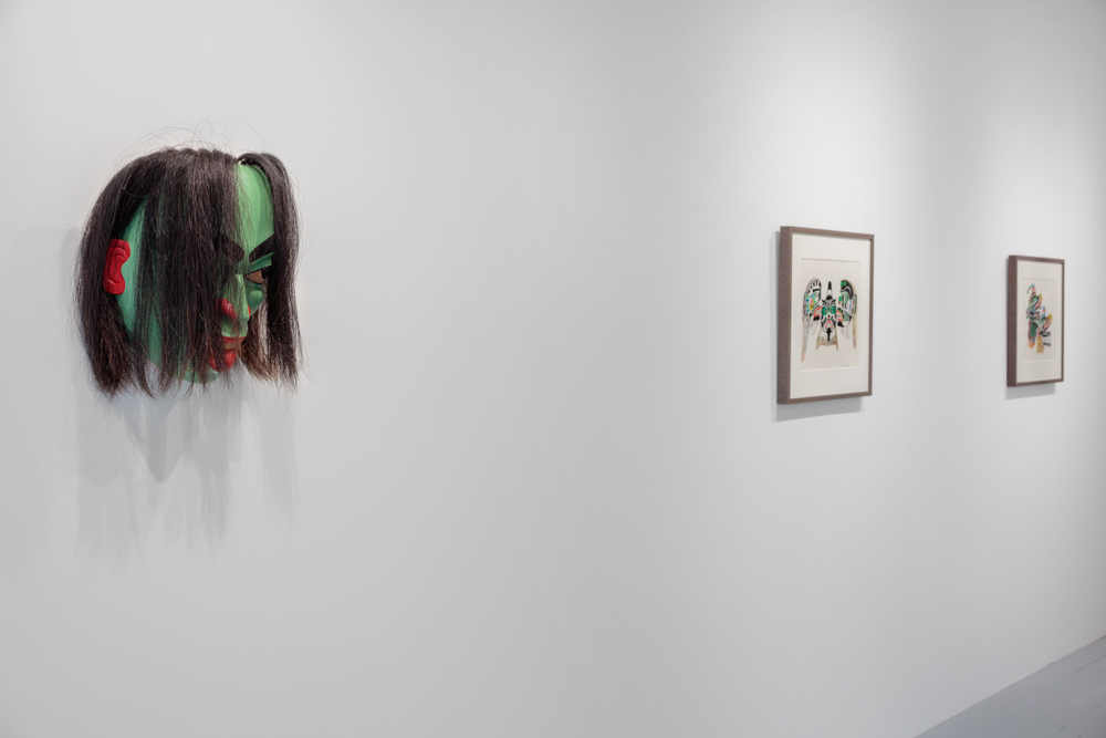 Install view of Henry Speck and Cole Speck exhibition at Ceremonial/Art, 2020
