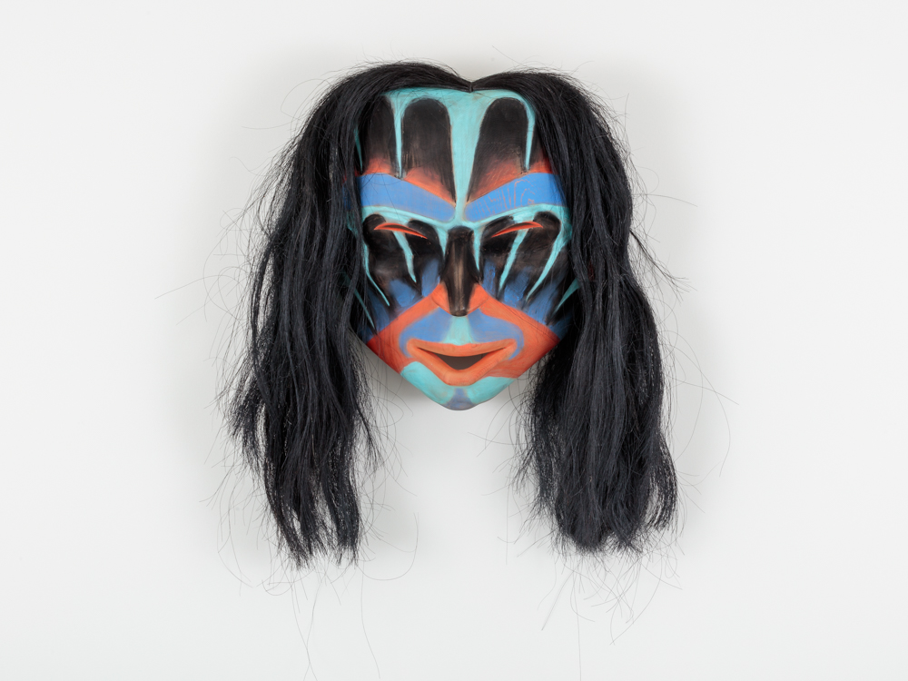 Ceremonial mask by Cole Speck