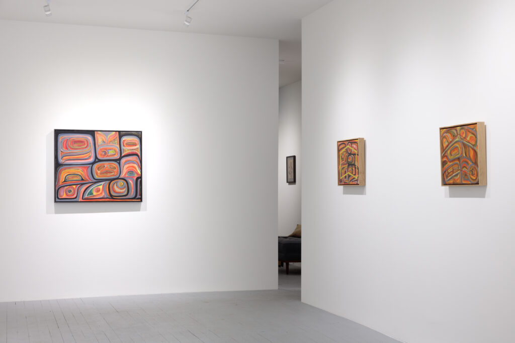 Installation view of Gigaemi Kukwits at Ceremonial/Art Gallery