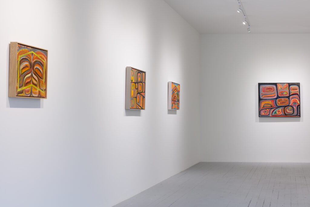 Installation view of Gigaemi Kukwits at Ceremoanial/Art Gallery