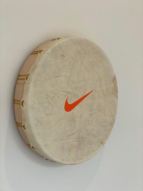 Ceremonial Drum by Corey Bulpitt