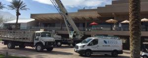 rivco truck with crane