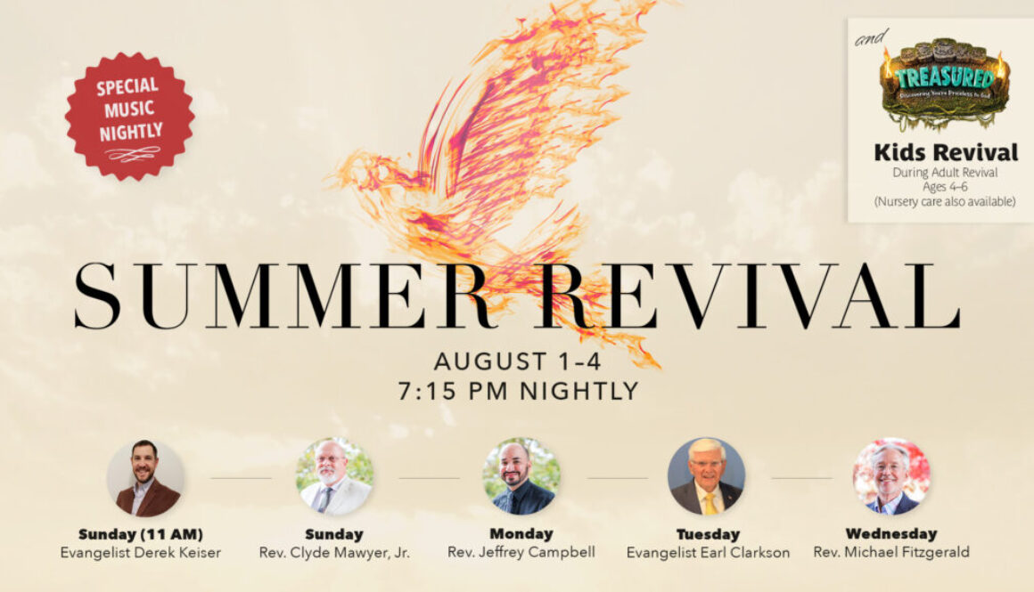 Summer Revival 2021 Graphic