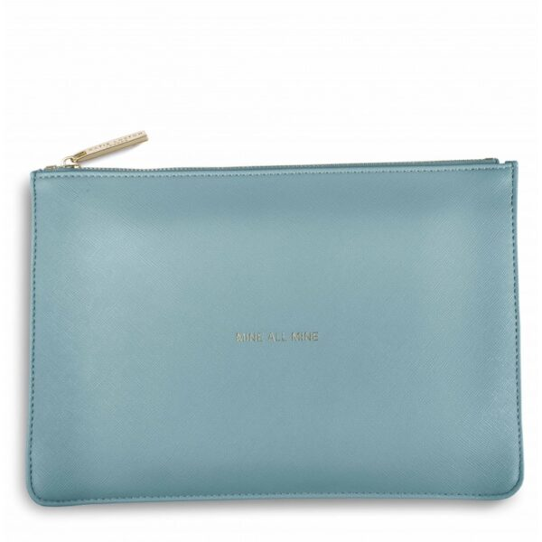 Katie Loxton Perfect Pouch Teal Mine all Mine