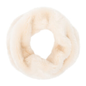 Pia Rossini Monroe Faux Fur Snood Almond Cream