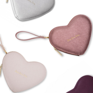Katie Loxton Love Heart Pouches