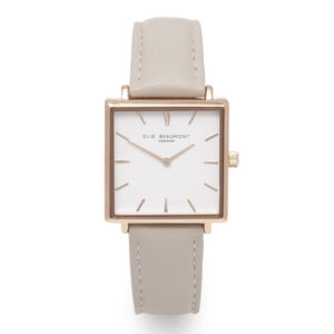 Elie Beaumont Bayswater Watch in Stone and Rose Gold