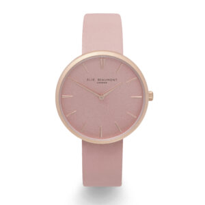 Elie Beaumont Hampstead Pink Watch