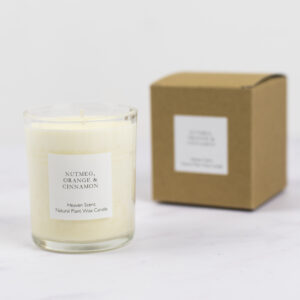 Heaven Scent Nutmeg Orange and Cinnamon Candle