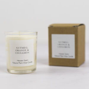 Nutmeg Orange and Cinnamon 9cl votive candle by Heaven Scent