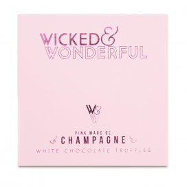 Wicked and Wonderful Marc de Champagne White Chocolate Truffles