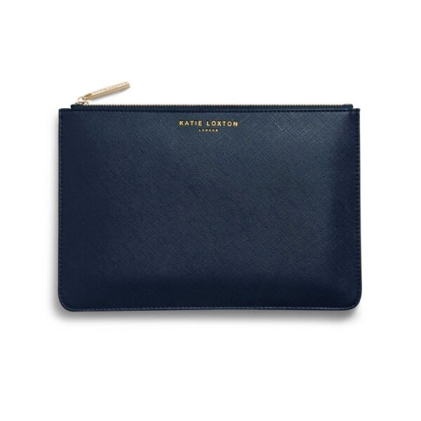 Katie Loxton Perfect Pouch Gift Set Happy Birthday Oh Yay Navy Pouch