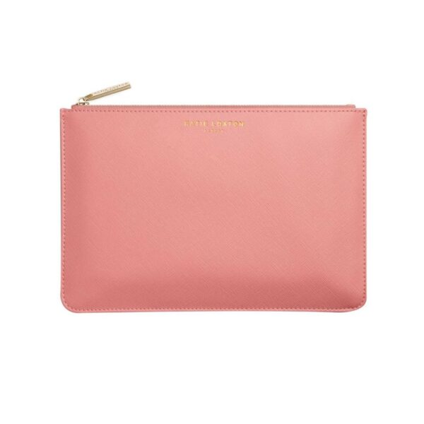 Katie Loxton Perfect Pouch Gift Set Oyster Pink Large Pouch