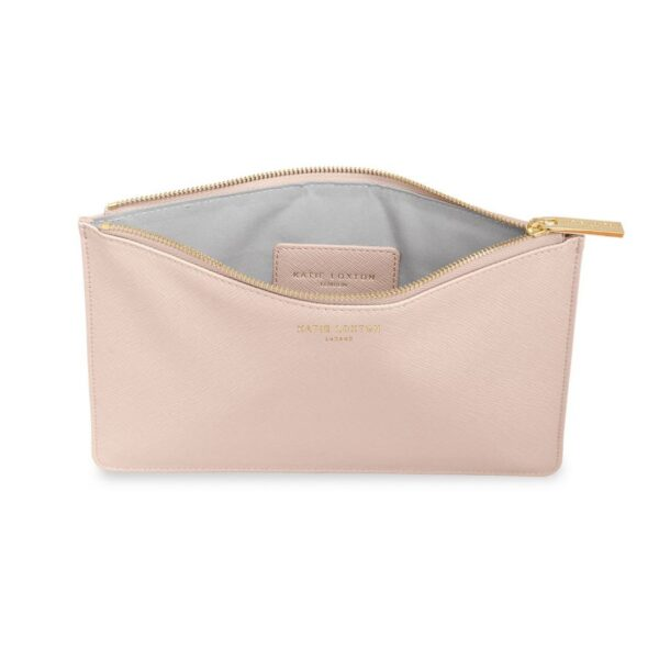 Katie Loxton Perfect Pouch Gift Set Pink Inside Detail