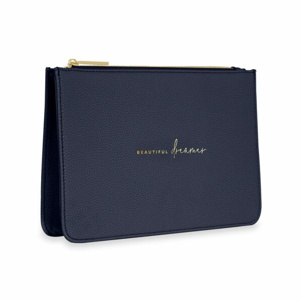 Katie Loxton Navy Structured Pouch - Beautiful Dreamer