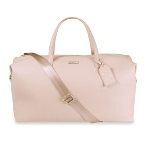 Katie Loxton Weekend Holdall Duffle Bag in Pale Pink