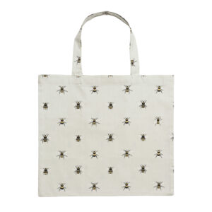 Sophie Allport Bees Folding Shopping Bag Open