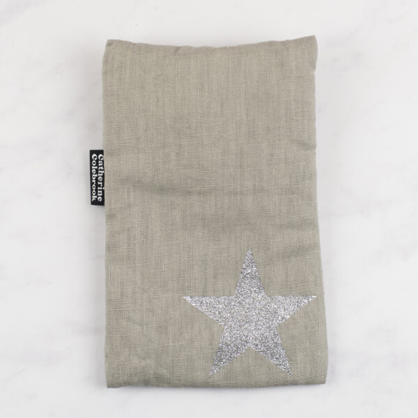 Catherine Colebrook Cute Hot Water Bottle Silver Star