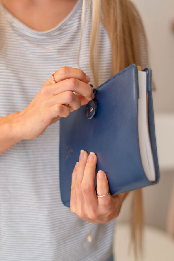 Chasing Threads Stitch Travel Notebook Closed