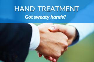 hand sweating treatment